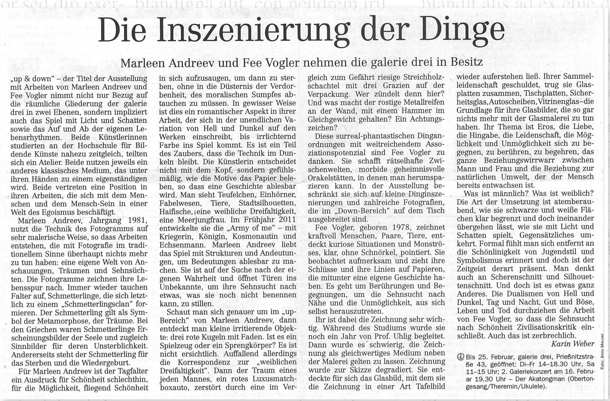 Dresdner Neueste Nachrichten, Karin Weber