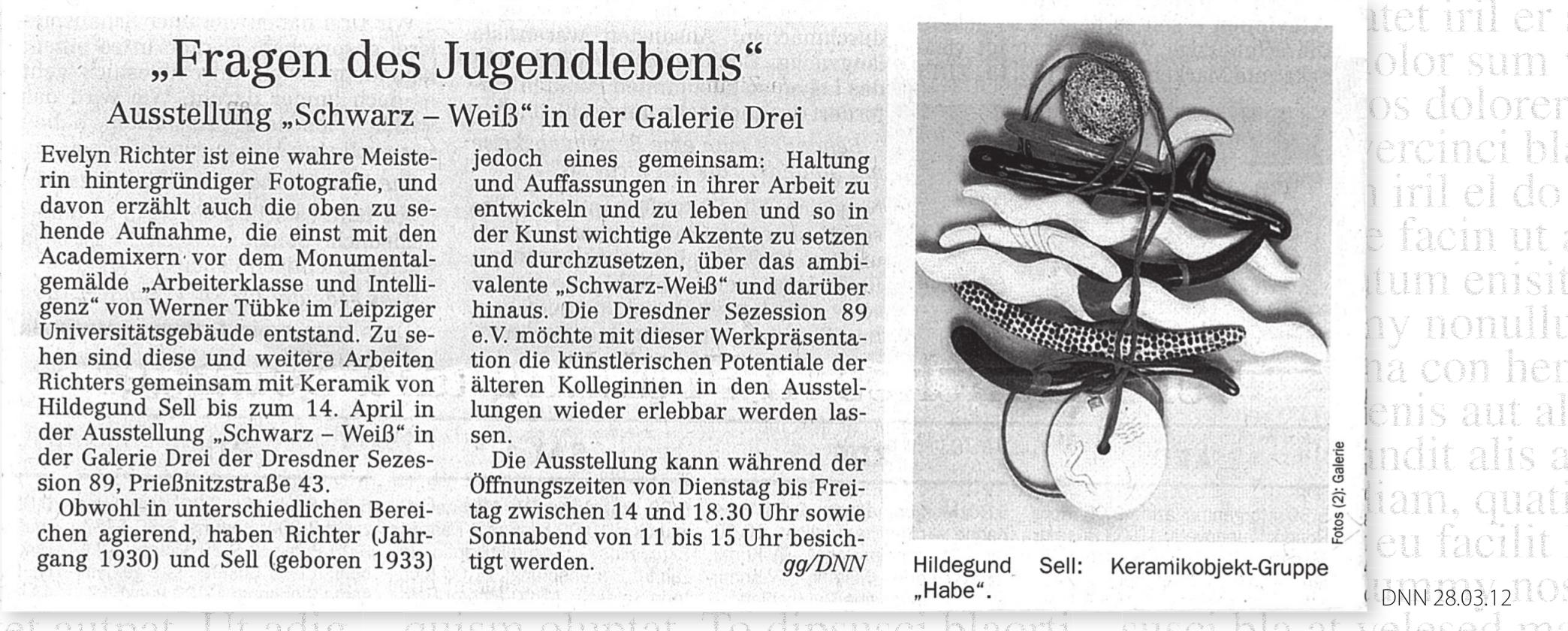 Dresdner Neueste Nachrichten, 28.03.2012, Gabriele Gorgas