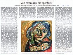 Dresdner Neueste Nachrichten 27.03.2014, Lisa Werner Art