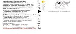 Textseite Einladung Jubilé 2014