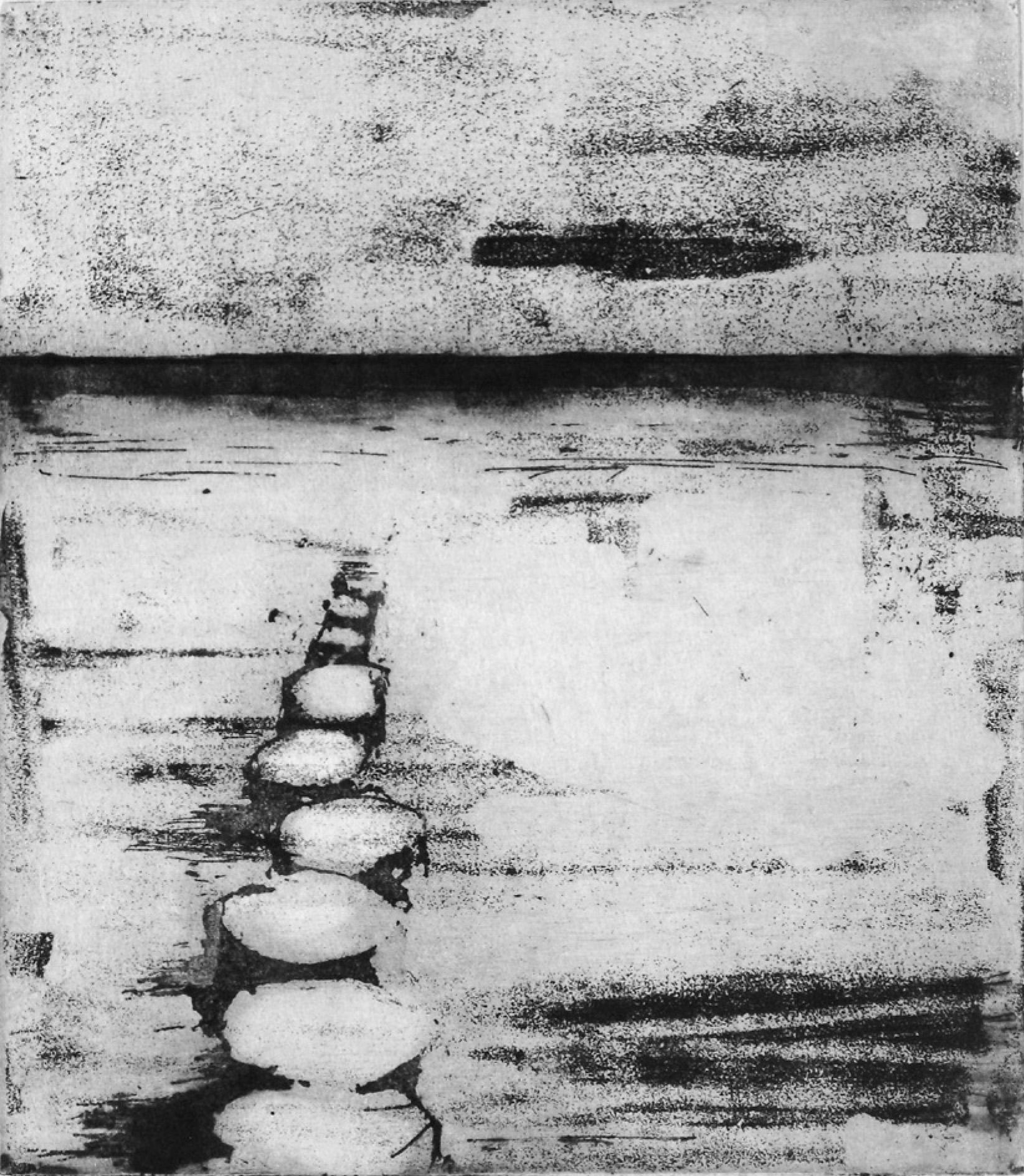 14 | Rita Geissler | Buhnen | 2014 | Aquatinta | 24,5 x 22 cm | Kunstlotterie