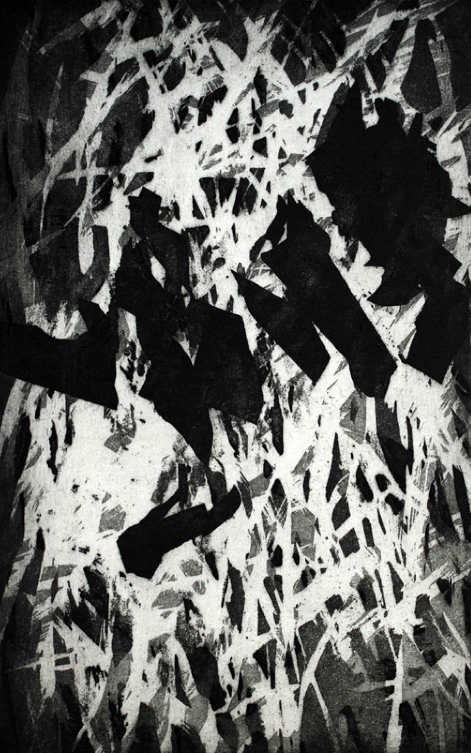 5 | Kerstin Franke-Gneuß | Doppelt | 2018 | Aquatintaradierung | 39,5 x 24,5 cm | Kunstlotterie