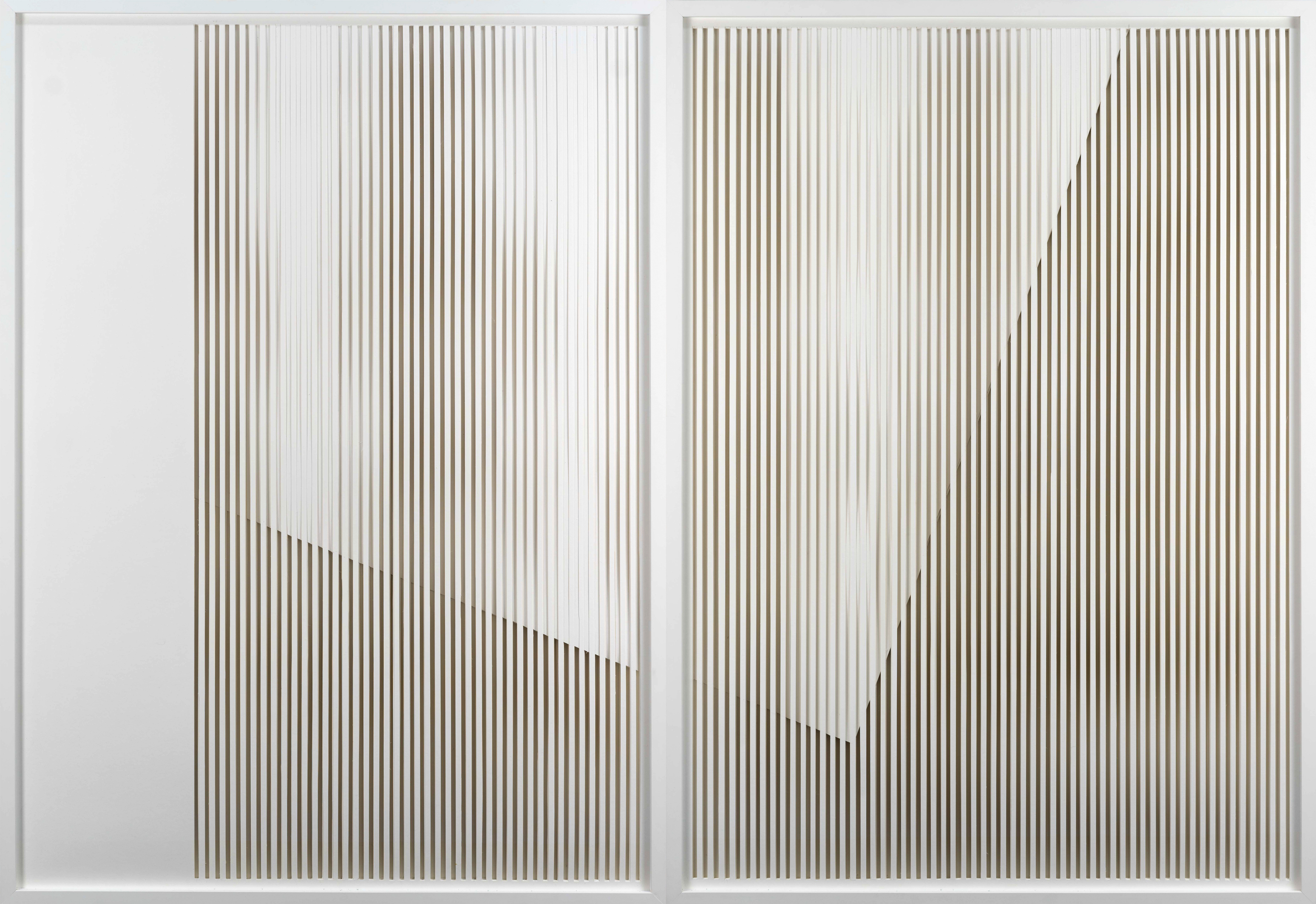 Patricia Westerholz failed filter #01 2018 cut out 140 x 200 x 1,5 cm Foto: Andreas Kempe