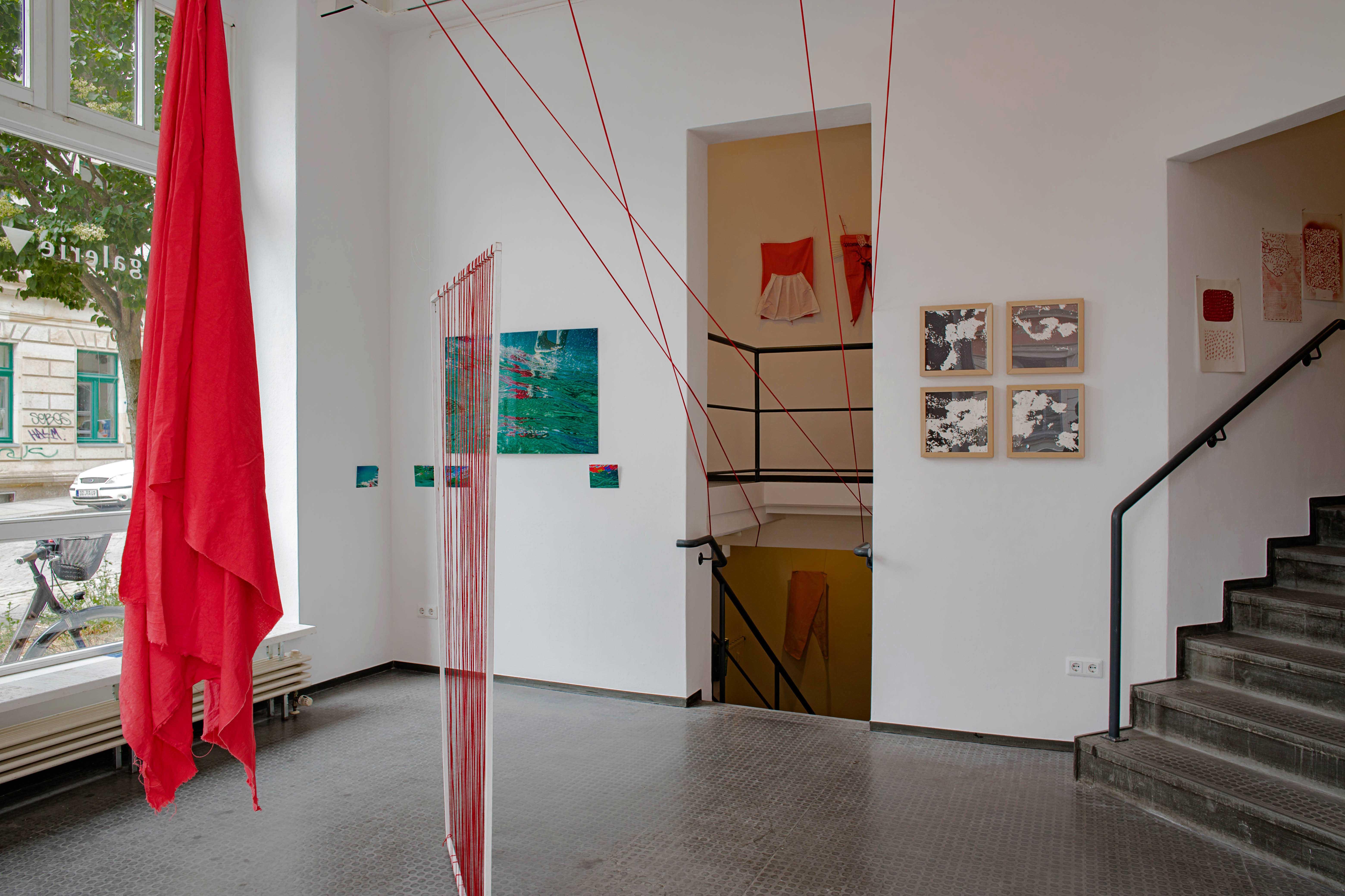 SWUUSH Installation Karin Kopka Musch Foto: Christine Starke