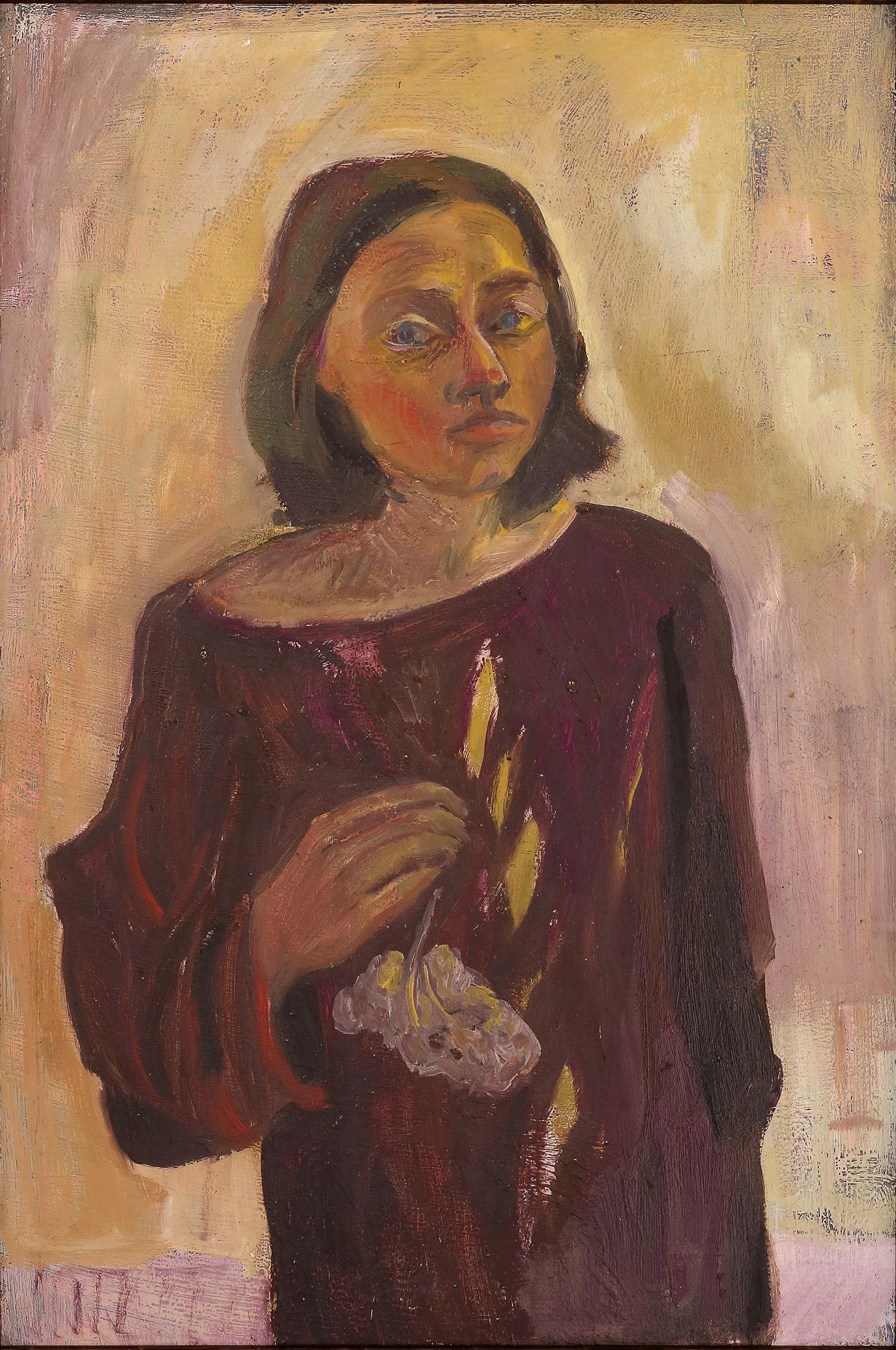 Christiane Just, Selbstbildis 1983