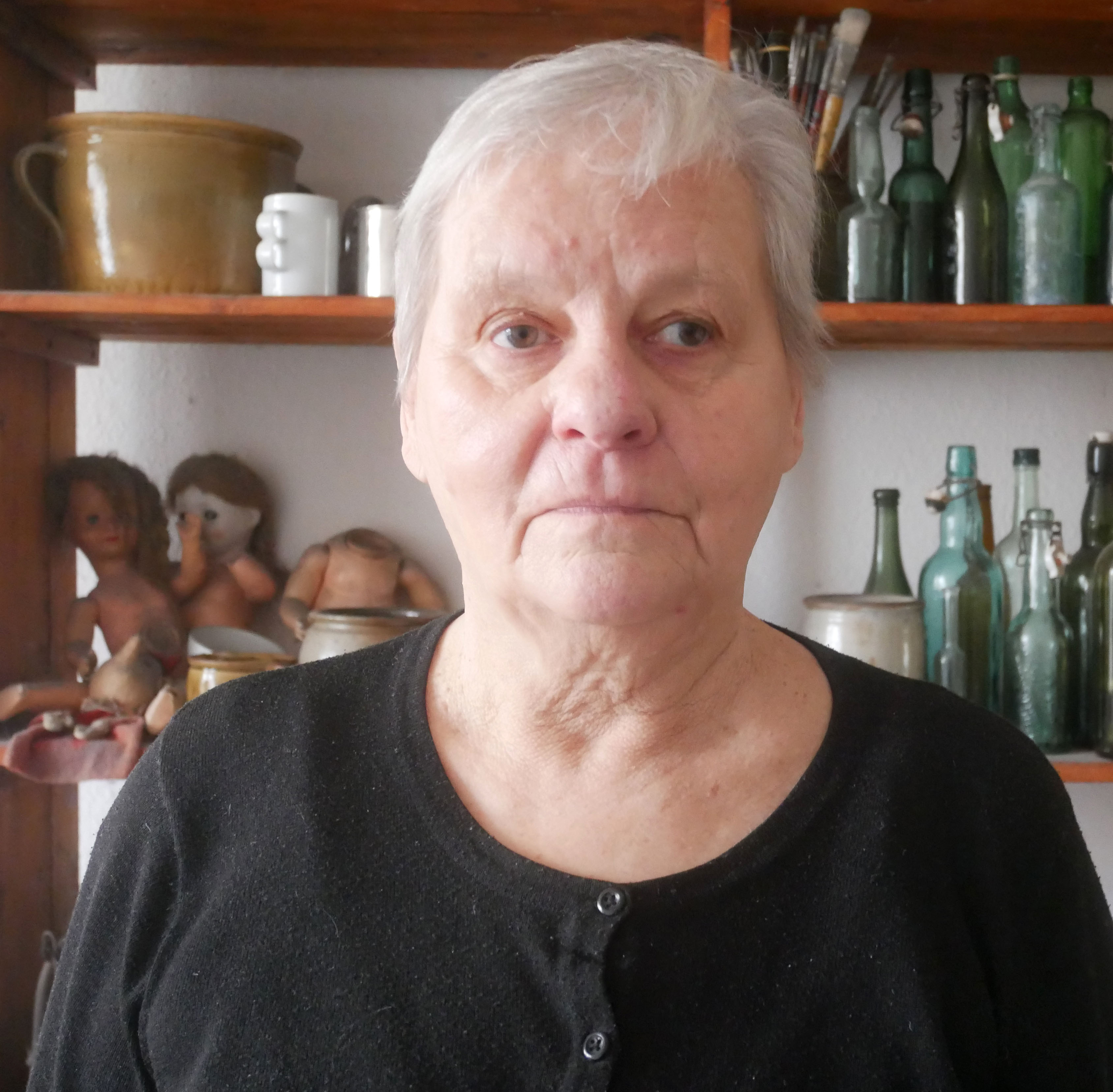 Marianne Dextor im Atelier